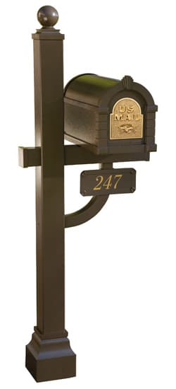 Original Keystone Mailbox and Deluxe Post Package Product Image