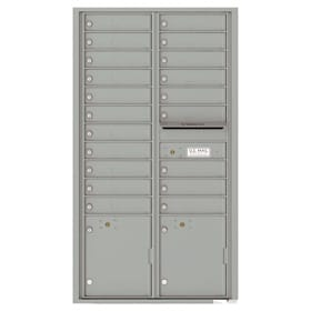 Horizontal 4C Mailboxes