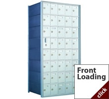Front Loading Commercial Mailboxes for Private Delivery