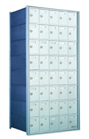 Rear Loading Private Distribution Mailboxes For University Mail Rooms