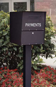 Pedestal Free Standing Collection Drop Boxes