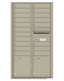 Front Loading 16 - 29 Door 4C Commercial Mailboxes