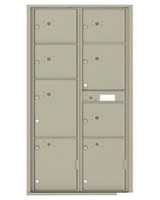 Auth Florence 4C Parcel Lockers – 8 Door Front Loading