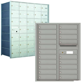 Horizontal 4B Mailboxes