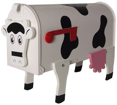 Original Cow Novelty Mailbox Product Image