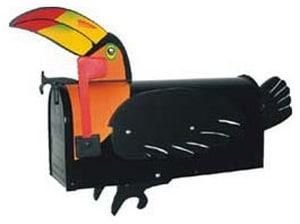 Toucan Novelty Mailbox