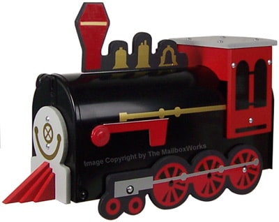 Train Novelty Mailbox Product Image