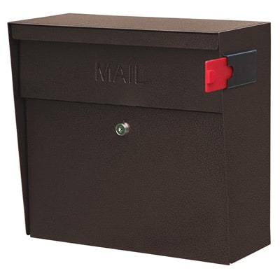 Mail Boss Metro Wall Mount Locking Mailbox Product Image