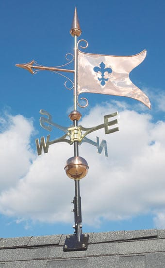 Whitehall Copper Banner Classic Weathervane Product Image