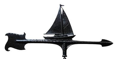 Whitehall 30 Inch Sailboat Accent Weathervane