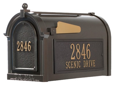 Whitehall Decorative Post Mount Mailboxes Product Image