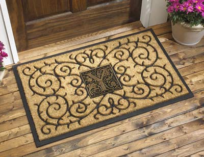 Whitehall Monogram Coir Door Mat Product Image