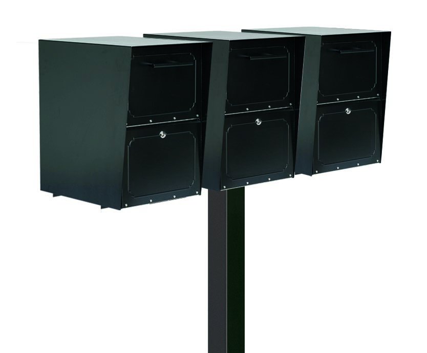 Large Oasis Locking Drop Boxes with Tri Standard Post Product Image