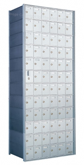 Florence Private Distribution Mailboxes 4B+ Horizontal 1600 Series 72 Door (71 Useable) 12 High Product Image