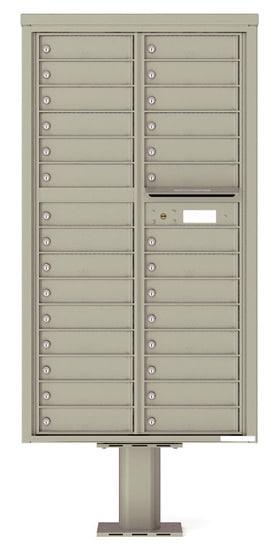 4C16D-29-P Commercial 4C Pedestal Mailboxes – 29 Tenant Doors Product Image