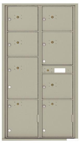 4C16D-8P Front Loading Commercial 4C Parcel Lockers – 8 Parcel Lockers Product Image