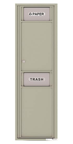 4C Mailboxes 4C16S-Bin Trash and Recycling Bin Product Image