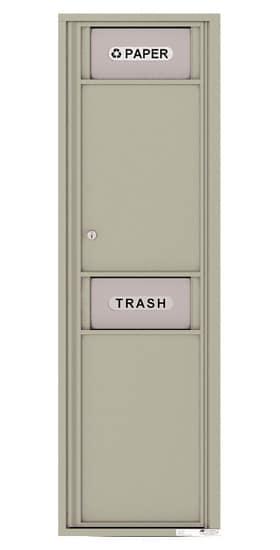 4C16SBIN 4C Mailboxes Trash Recycling Bin