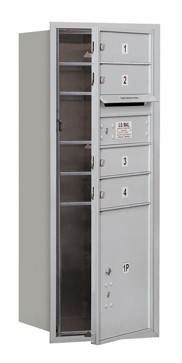3710S-04 Front Loading Salsbury 4C Horizontal Mailboxes Product Image