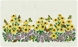 Bacova Mailbox Blooms n' Butterflies 10418