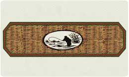 Bacova Mailbox Fly Fisherman 10407