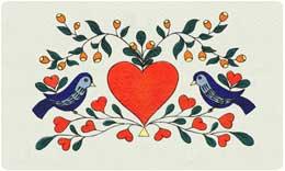 Bacova Mailbox Love Birds 10107