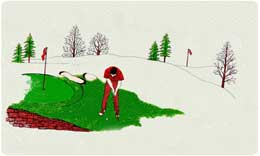 Bacova Mailbox Golf Green 10302