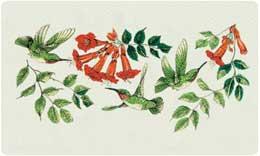 Bacova Mailbox Hummingbirds 2 10301