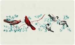 Bacova Mailbox Small Songbirds 10024