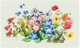 Bacova Mailbox Wildflowers 10093