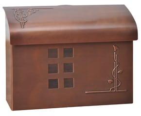Ecco 7 Mailbox Antique Copper