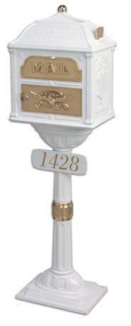 Gaines Classic Mailbox Address Plaque
