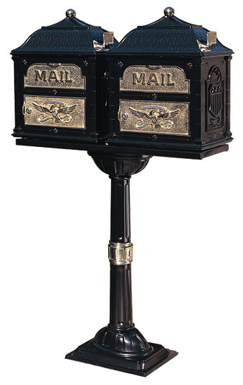 Classic Mailboxes with Double Pedestal Post Product Image