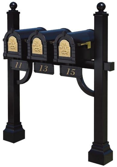 Keystone Mailboxes with Tri Mount Post Product Image