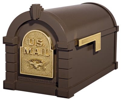 Gaines Original Keystone Post Mount Mailboxes