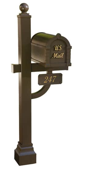Signature Keystone Mailbox and Deluxe Post Package Product Image