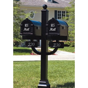 Keystone Signature Series Locking Mailboxes with Double Deluxe Post Product Image