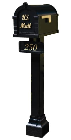Signature Keystone Mailbox and Standard Post Package Product Image