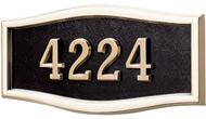 Gaines Large Roundtangle Black Polished Brass