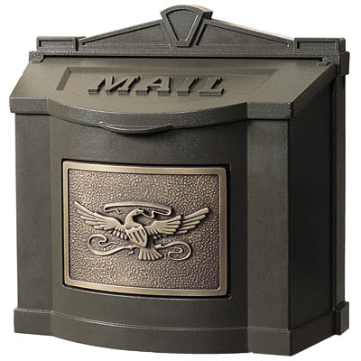 Gaines Eagle Locking Wall Mount Mailbox Product Image