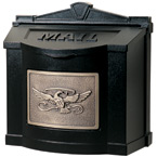 Gaines Eagle Wall Mount Black Bronze
