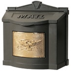 Gaines Eagle Wall Mount Bronze Brass