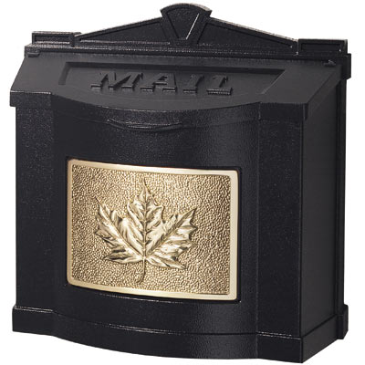Gaines Maple Leaf Locking Wall Mount Mailbox Product Image