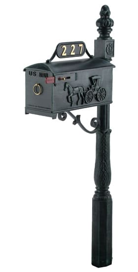 Imperial 227 Mailbox and Post Product Image