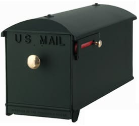 Imperial Mailbox and Post Green
