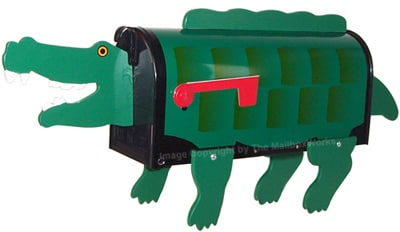 Crocodile Novelty Mailbox Product Image