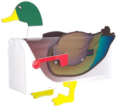 Mallard Duck Novelty Mailbox Product Image