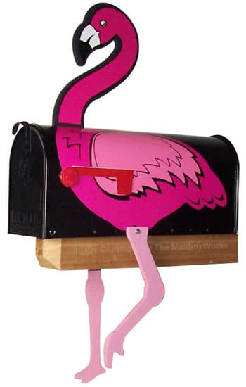 Flamingo Novelty Mailbox Product Image