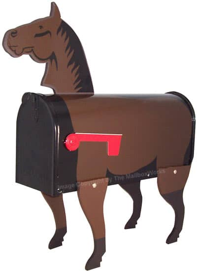 Horse Novelty Mailbox Product Image