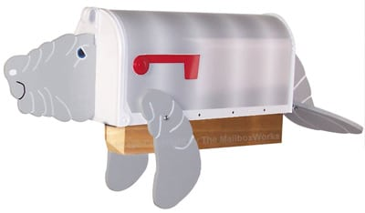 Manatee Novelty Mailboxes